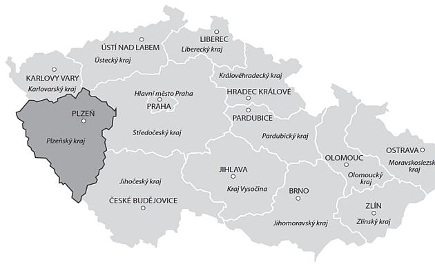 Cenova Mapa Pozemku Plzensky Kraj Ceny Pozemku Plzen